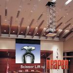 Draper, Inc. - Scissor Lift SL - Motorized Projector Lift