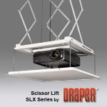 Draper, Inc. - Scissor Lift SLX - Motorized Projector Lift