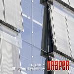 Draper, Inc. - s_enn® Stainless Steel Exterior Shade System