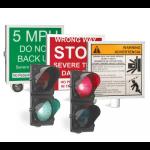 DoorKing, Inc. - 1610 Warning Signs & Traffic Signal