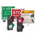 DoorKing, Inc. - 1610 Warning Signs & Traffic Signal - Traffic Control