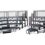 Wenger® Corporation - Upper Deck Audience Seating® Tiered Risers