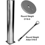 Wenger® Corporation - Round Weight Arbor Components