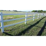 F&F Composite Group, Inc. - Fiberfence® Ranch Fiberglass Fencing