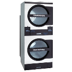 Continental Girbau, Inc. - Stack60 Pro-Series II Commercial Dryer for On-Premise Laundries
