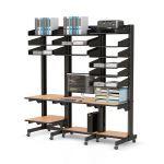 AFC Industries - Multi-User LAN Server Workstation Computer Furniture