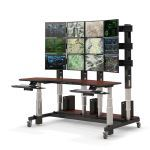 AFC Industries - Control Room Console with Video Wall