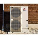 Mitsubishi Electric HVAC - Air Source Heat Pump (S-Series) - Outdoor Unit