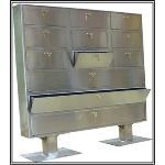 Fasco Security Products - FGL-708-9/3-WP Outdoor Weapon Cabinet