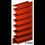 Architectural Louvers - E4WS Wall Louvers