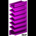 Architectural Louvers - E6DP Wall Louvers
