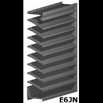 Architectural Louvers - E6JN Wall Louvers