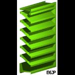 Architectural Louvers - E6JP Wall Louvers