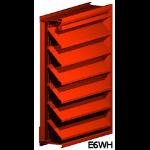 Architectural Louvers - E6WH Wall Louvers