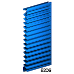 Architectural Louvers - E2DS Wall Louvers