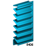 Architectural Louvers - E4DS Wall Louvers
