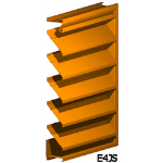 Architectural Louvers - E4JS Wall Louvers