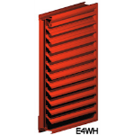 Architectural Louvers - E4WH Wall Louvers