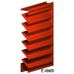 Architectural Louvers - E4WS Wall Louvers