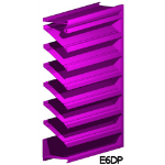 Architectural Louvers - E6DP Wall Louvers