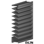 Architectural Louvers - E6JN Wall Louvers