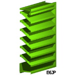 Architectural Louvers - E6JP Wall Louvers