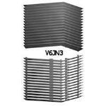 Architectural Louvers - V6JN Equipment Screens