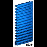 Architectural Louvers - E2DS Wall Louvers