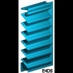 Architectural Louvers - E4DS Wall Louvers