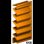 Architectural Louvers - E4JS Wall Louvers