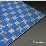 Construction Specialties - Floormations Aluminum Entrance Mats/Grids