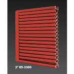 "Construction Specialties - 4"" RS-4600 Storm Resistant Fixed Vertical Louver"