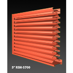 "Construction Specialties - 5"" RSH-5700 Storm Resistant Louvers"