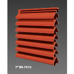 "Construction Specialties - 7"" RS-7315 Storm Resistant Louvers"