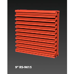 "Construction Specialties - 9"" RS-9615 Storm Resistant Louvers"