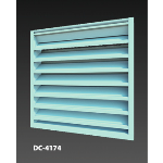 Construction Specialties - DC-4174 Drainable / Hurricane Louver