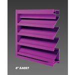 "Construction Specialties - 4"" A4097 Drainable Louver"