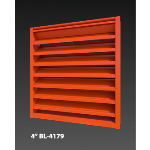 "Construction Specialties - 4"" BL-4179 Drainable Louver"
