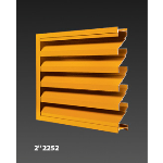 "Construction Specialties - 2"" 2252 Air Conditioning & Thinline Louvers"