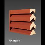 "Construction Specialties - 12"" A12350 Acoustical Louvers"