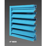 "Construction Specialties - 4"" 4830 Operating Louvers"