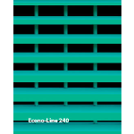 Construction Specialties - ECONO-LINE 240 Vision Barriers