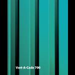 Construction Specialties - VERT-A-CADE 700 Vision Barriers