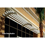 Construction Specialties - Tube Cantilevered & Suspended Sunshades