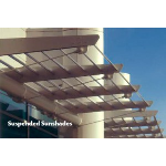 Construction Specialties - Suspended Cantilevered & Suspended Sunshades