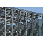 Construction Specialties - Horizontal Cantilevered & Suspended Sunshades