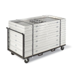 Staging Concepts - Stage Storage/Transport Carts - Arena Cart
