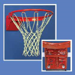 Douglas Industries, Inc. - Pressure Flex Moveable Goal-Basketball