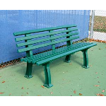 Douglas Industries, Inc. - 5' Courtsider, Green Bench