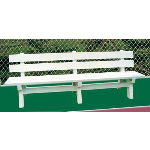 Douglas Industries, Inc. - Rain/Shine Bench, 7'8""